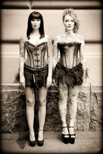 Sini Ariell and Olivia Moonchild