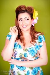 Pin-up makeover by Lifu