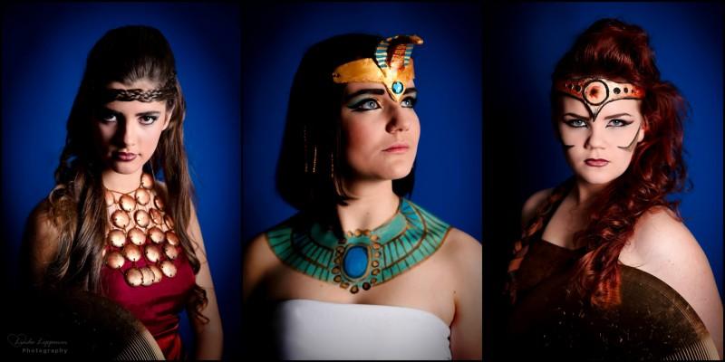 Cleopatra and Gladiators