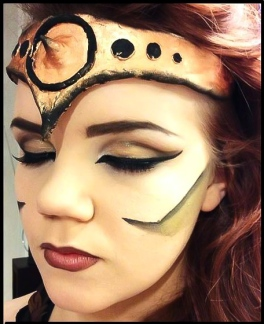Female Gladiator make-up