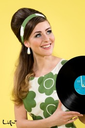 60's hair and make-up by Lifu