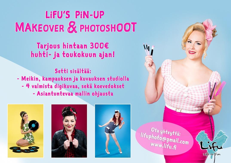 Lifu's Pinup makeover