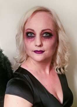 Fallen angel -Halloween look